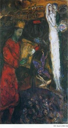 'King David' - Marc Chagall.