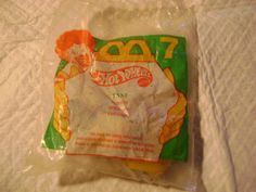 MCDONALDS/MATTEL 1997/1994-HOT WHEELS #7-TAXI VEHICLE TOY