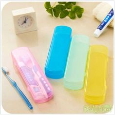 Toothbrush & Toothpaste Storage Case