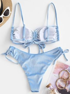 Strappy Bathing Suit, Cute Bathing Suits, Cheap Swimsuits, Swimsuits For All, Swimwear Fashion, Bikini Swimwear, Beach Fashion, Sport Bikini Set, Bikini Types