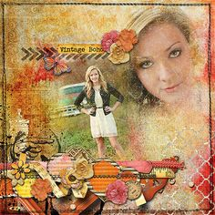 Created with Boho Chic by StellaJane Design http://www.thedigichick.com/shop/Boho-Chic-kit.html and Grungy Photo Masks Set 1 by mle Card at Scrap Orchard