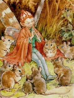 Fairy & mouse celebration Margaret W. Tarrant
