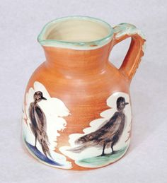 Pablo Picasso - Pitcher with Birds | From a unique collection of more art at http://www.1stdibs.com/art/more-art/