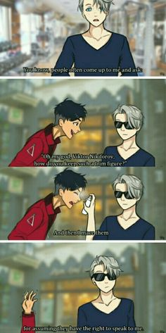 I think this is really funny, but Viktor would never be that mean...