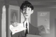 Avião de Papel, Disney, Paperman