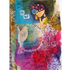 Art Journaling By Samantha Kira Harding