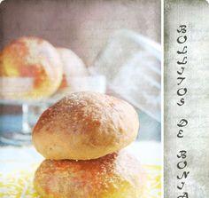 Estos bollitos de boniato en realidad estaban destinados a ser unas tortas de boniato según una receta que encontré en un libro de cocina c...