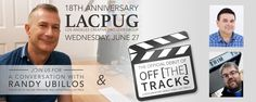 If you are anywhere near Los Angeles next week, then you must attend the 18th anniversary of the LACPUG. FCP...