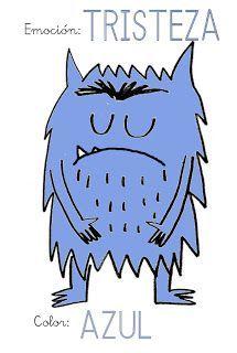 ¿Qué puedo hacer hoy?: Emociones de colores II: Azul - Tristeza