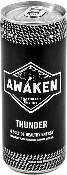Chase Thompson design, energy drink