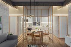 """171 kedvelés, 3 hozzászólás – Freshome (@freshome) Instagram-hozzászólása: """"Glass partitions and refurbishments have completely transformed this Bilbao apartment into a total…"""""""
