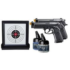Pistol 160923: Umarex Usa 2274007 Beretta Game Ready Target Kit Black W 2 Airsoft Pistols -> BUY IT NOW ONLY: $37.2 on eBay!