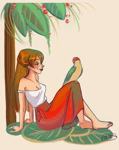 "Jane Porter by Celiarts.deviantart.com on @DeviantArt - From ""Tarzan"""