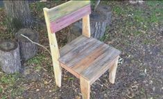 DIY: How to make chairs out of pallets  #DIY