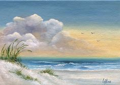 Watercolor tutorial seascapes   http://www.bylydia.net/art/the-bay/