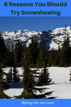When winter covers all of your favorite trails with the white stuff, why stay inside? Here are 8 fantastic reasons to try snowshoeing.
