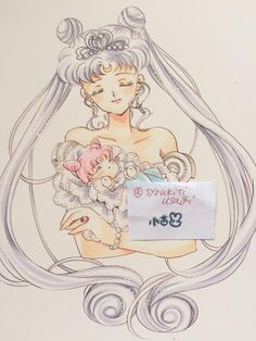 sailor moon crystal: Google+