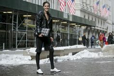They Are Wearing: New York Fashion Week Fall 2015 - Slideshow....WHITE LOAFERSWILL WE ROCK THEM THIS FALL?