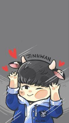 Ikon Wallpaper, Love Art, Lily, Fan Art, Kpop, Cute, Anime, Babies, Funny