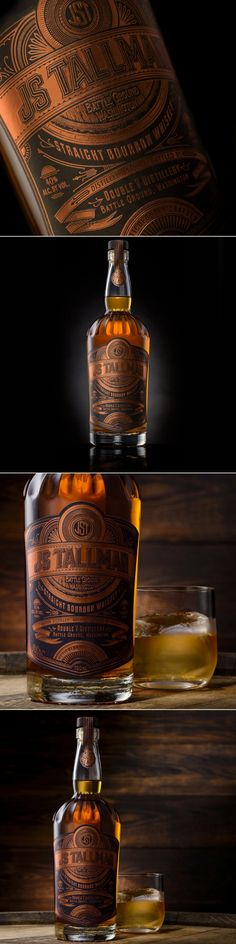 JS Tallman is a Bourbon With an Old School Feeling — The Dieline | Packaging & Branding Design & Innovation News
