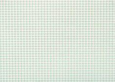 Mint Scallops on Cream Fine Paper- potential envelope liner paper