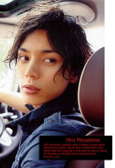 Hiro Mazushima - good actor, why stop acting when there are so much more you can do?