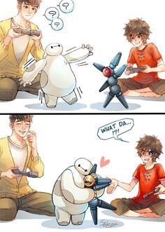 Big Hero 6 - Baymax fanart and mashups