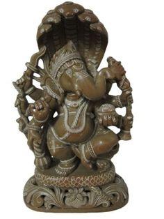 Ganesha Spiritual Statue Good Luck Lord Ganesha Stone Sculpture Hindu Yoga Decor 8 Inches by Mogul Interior, http://www.amazon.com/dp/B00CPK1UP2/ref=cm_sw_r_pi_dp_c1fJrb0QRPNJV