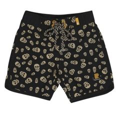 ROCK YOUR KID - Boy's Skullduggery Boardshorts