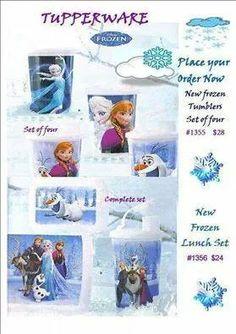 We have frozen .... Visit www.my.tupperware.com/elizabethbenton