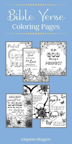 Who doesn't love to color? This collection of printable Bible verse coloring pages will keep you and the kids busy for hours! Bible Verse Coloring Page, Adult Coloring Pages, Coloring Sheets, Printable Bible Verses, Bible Scriptures, Free Printable, Favorite Bible Verses, Christian Parenting, Bible Lessons