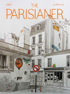 Deux jeunes illustrateurs, Michael Prigent et Aurélie Pollet, se sont lancé un défi fou: rassembler une centaine de dessinateurs, afin qu'ils livrent une couverture d'un magazine imaginaire, The Parisianer.