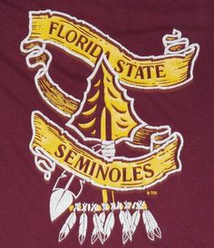Vintage 1980s Florida State University T-Shirt. Very good pre-owned condition.