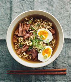 A simplified, yet delicious recipe for Pork Ramen, prepared in the slow cooker.