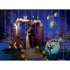 Our Enchanted Forest Theme Kit brings the outside wilderness right into the middle of your venue.