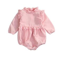 e346b798cb3c The Belle Romper is a lovely outfit featuring ruffle details throughout.  Constructed of lightweight cotton
