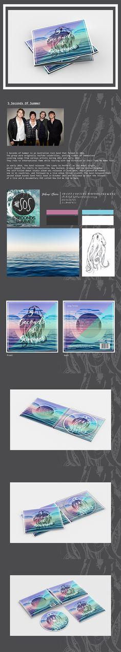 Album Art mockup 5 Seconds Of Summer on Behance