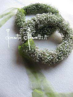 #AnelliFloreali #MatrimonioALecce #Stile #AllestimentiFloreali #Sposa #DonatoChiriatti