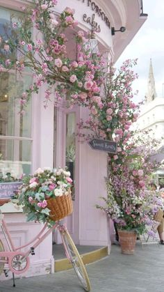Amazing Flowers, Pretty Flowers, Pretty In Pink, Peggy Porschen Cakes, London Photos, London Tips, London Icons, Front Yard Landscaping, Landscaping Ideas