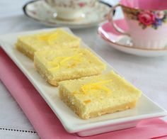 Low Carb Lemon Cheesecake Bar Recipe | All Day I Dream About Food