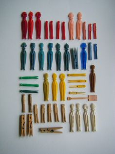 vintage clothes pins