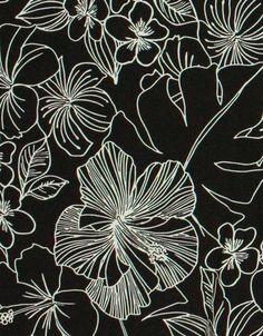 Mary Jo's Cloth Store - Fabrics - Spandex - Promo 15 (Spandex House) #hibiscus #fabrics #spandex