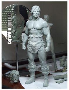 Conan, The barbarian by Pedro-Moretto.deviantart.com