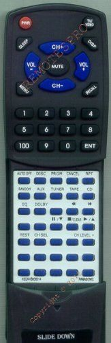 PANASONIC Replacement Remote Control for N2QAHB000014, SAAK62, SAAK66, SCAK62, SCAK66 by Redi-Remote. $39.95. This is a custom built replacement remote made by Redi Remote for the PANASONIC remote control number N2QAHB000014. *This is NOT an original  remote control. It is a custom replacement remote made by Redi-Remote*  This remote control is specifically designed to be compatible with the following models of PANASONIC units:   N2QAHB000014, SAAK62, SAAK66, SCAK62, SCAK66  *If...