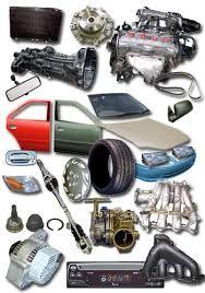 car spare parts list