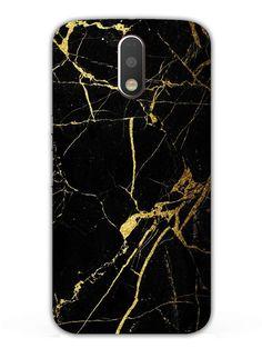 Classy Black Marble - Designer Mobile Phone Case Cover for Moto G4