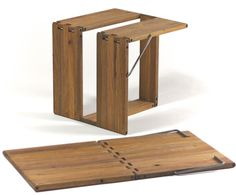 foldable table / stool