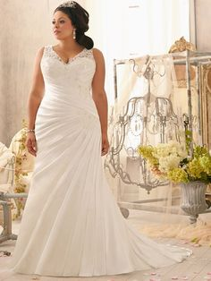 Slida/Kolumn Rems Kapell Tåg Satäng Lace rmlös Wedding Dresses