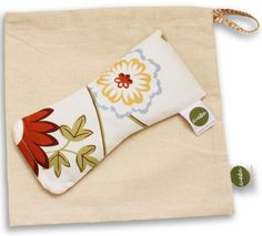 WeBe - Eye Pillow with Zipper & a muslin bag - Floral Print