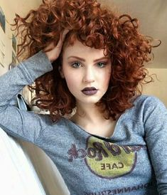 Red curly hair bob haircut inspiration copper - My CMS Curly Hair Bob Haircut, Long Curly Hair, Curly Hair Styles, Bright Red Hair, Red Hair Color, Wedding Hair Colors, Beautiful Red Hair, Ginger Hair, Bob Hairstyles